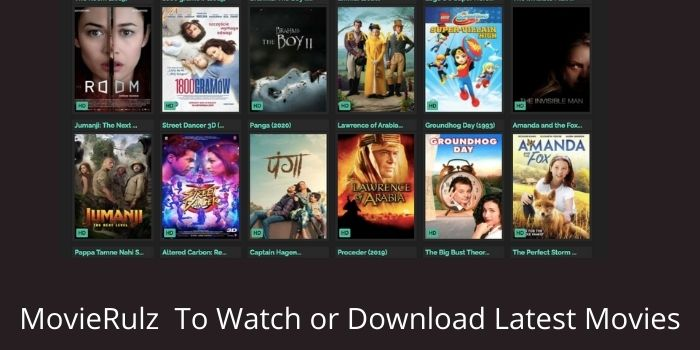 MovieRulz To Watch or Download Latest Movie of Bollywood & Hollywood