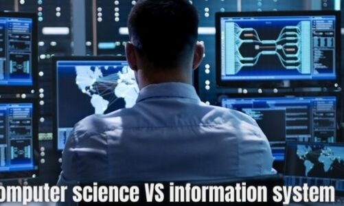 Difference between computer science and information system
