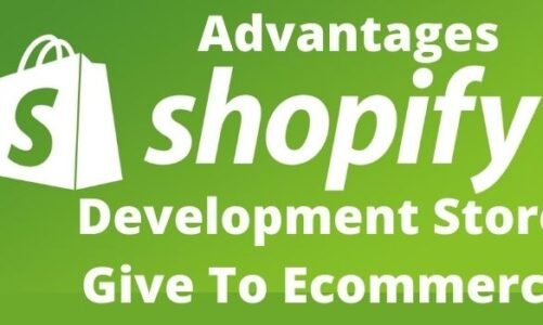 Advantages Shopify Development Store Give To Ecommerce